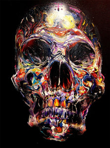 Colorful Skull DIY Diamond Painting