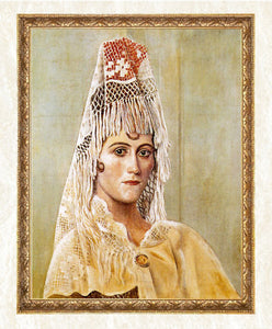 Olga Khokhlova in Mantilla Diamond Painting