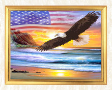 Load image into Gallery viewer, Eagle Flying on the Beach