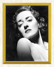 Load image into Gallery viewer, Bette Davis Portrait DIY Diamond Painting