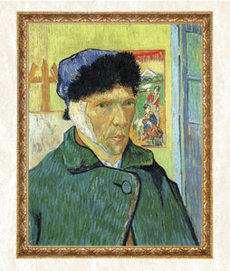 Van Gogh Self Portrait with Bandages