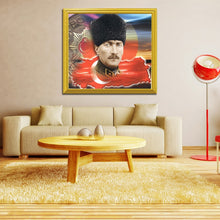 Load image into Gallery viewer, Mustafa Kemal Ataturk Diamond Painting