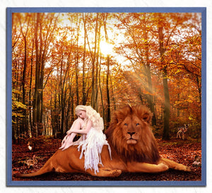 White Girl & Mighty Lion