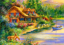 Load image into Gallery viewer, House DIY Diamond Painting Kit