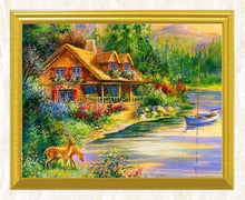 Load image into Gallery viewer, Beautiful House by the River