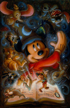 Load image into Gallery viewer, Disneyland DIY Diamond Painting