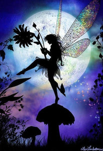 Fairy in the Forest DIY Diamond Painting