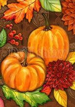Load image into Gallery viewer, Pumpkins & Halloween DIY Diamond Paintings