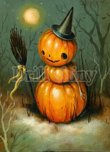 Pumpkins & Halloween DIY Diamond Paintings