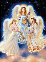 Load image into Gallery viewer, Angels Collection DIY Diamond Paintings