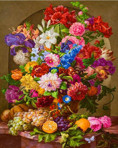Colorful Flowers Collection DIY Diamond Painting