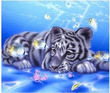Load image into Gallery viewer, Rabbits & Tigers DIY Diamond Painting