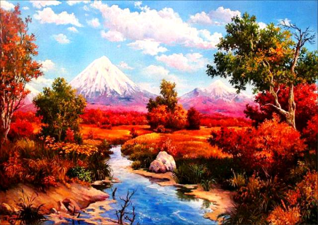 Beautiful Landscapes DIY Diamond Paintings