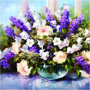 Variety of Flowers Collection DIY Painting