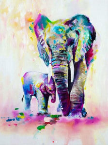 Elephant 5D Diamond Painting Kit
