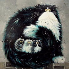 Load image into Gallery viewer, Cats DIY Diamond Paintings
