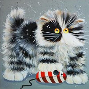 Fluffy Cats DIY Diamond Paintings