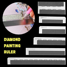 Load image into Gallery viewer, Anti stick Ruler Tool for Diamond Painting