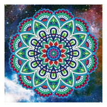 Load image into Gallery viewer, Glow In The Dark 5D Painting Mandala Style