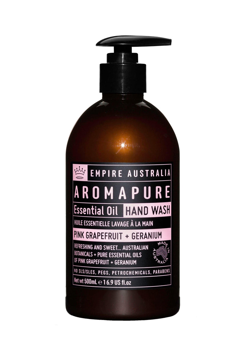 Aroma pink grape & ger Hand wash