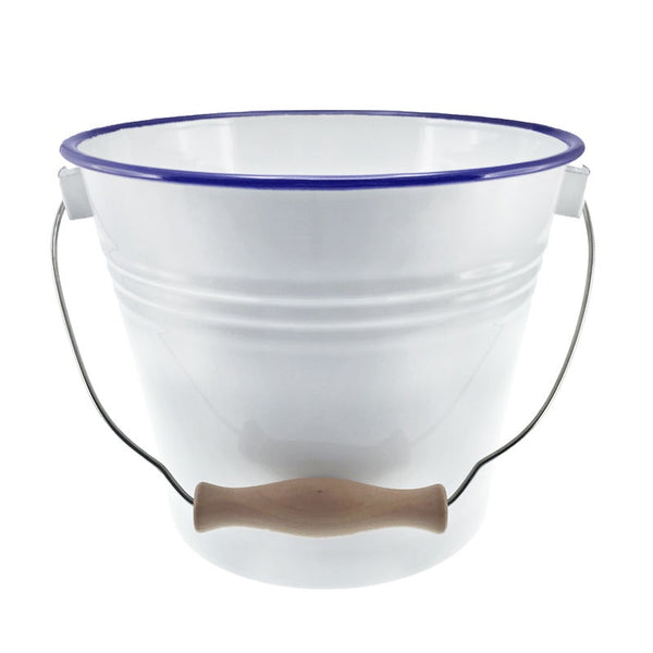 Falcon Enamel Bucket with Lid
