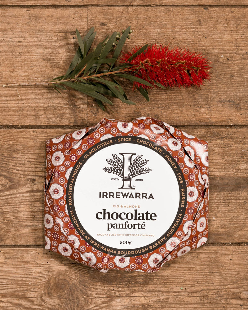 Irrewarra Chocolate Panforte Whole