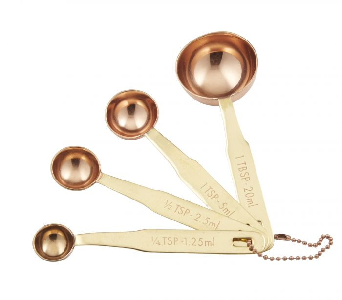 Copper Plate Measuring Spoons