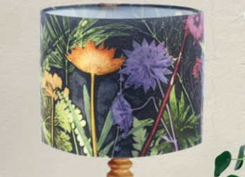 Midnight Jungle  Lampshade