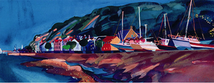 New Boats ltd ed print sold on behalf of Michelle Scragg