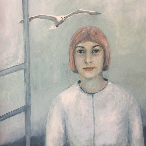 Girl and Seagull Sold on Behalf of Carys Evans