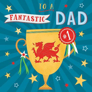 Dad Dragon Cup Card