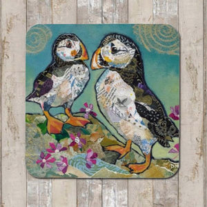 Puffin Pals Placemat by Dawn Maciocia