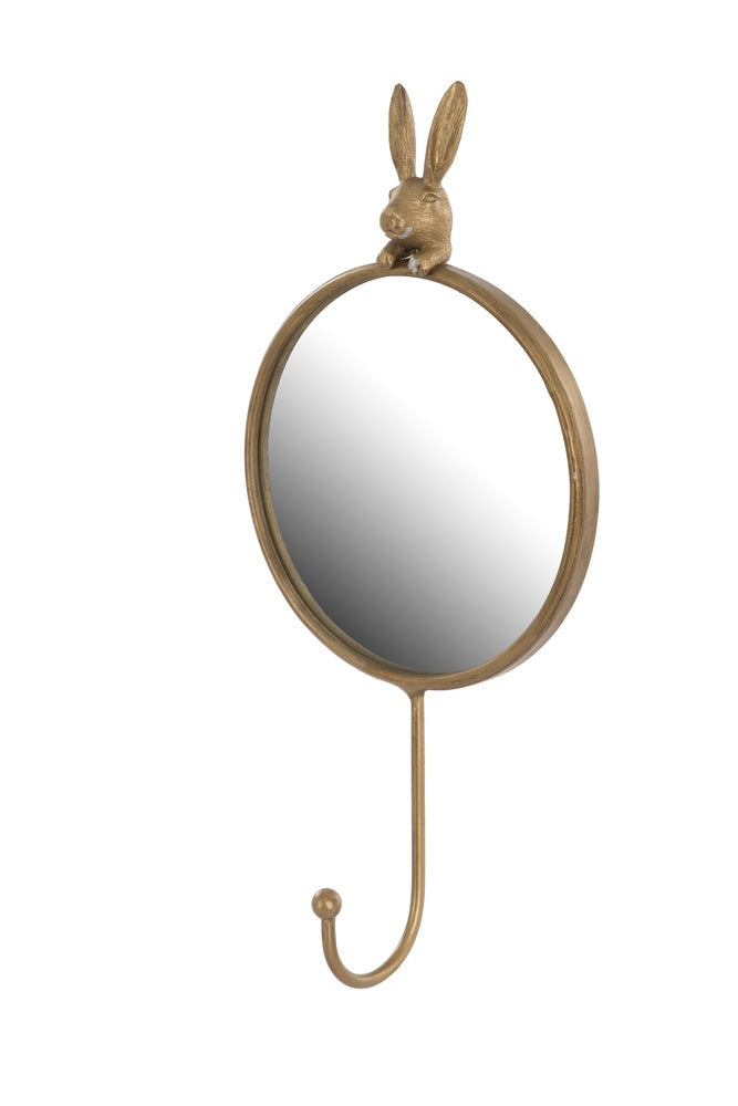 Hare Mirror with Hook