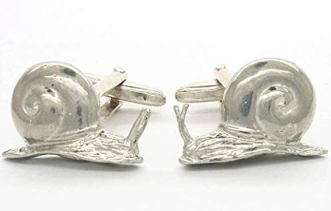 Cufflinks Snails by William Sturt