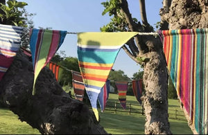 Multi Stripe Bunting 5.5 m or 16.5 foot