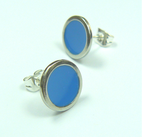 Blue Sky Earstuds sold on behalf of Koa Jewellery