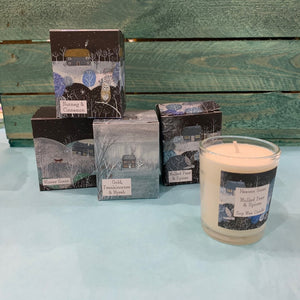 Winter Range Soy Wax Candles  essential oils 20 cl