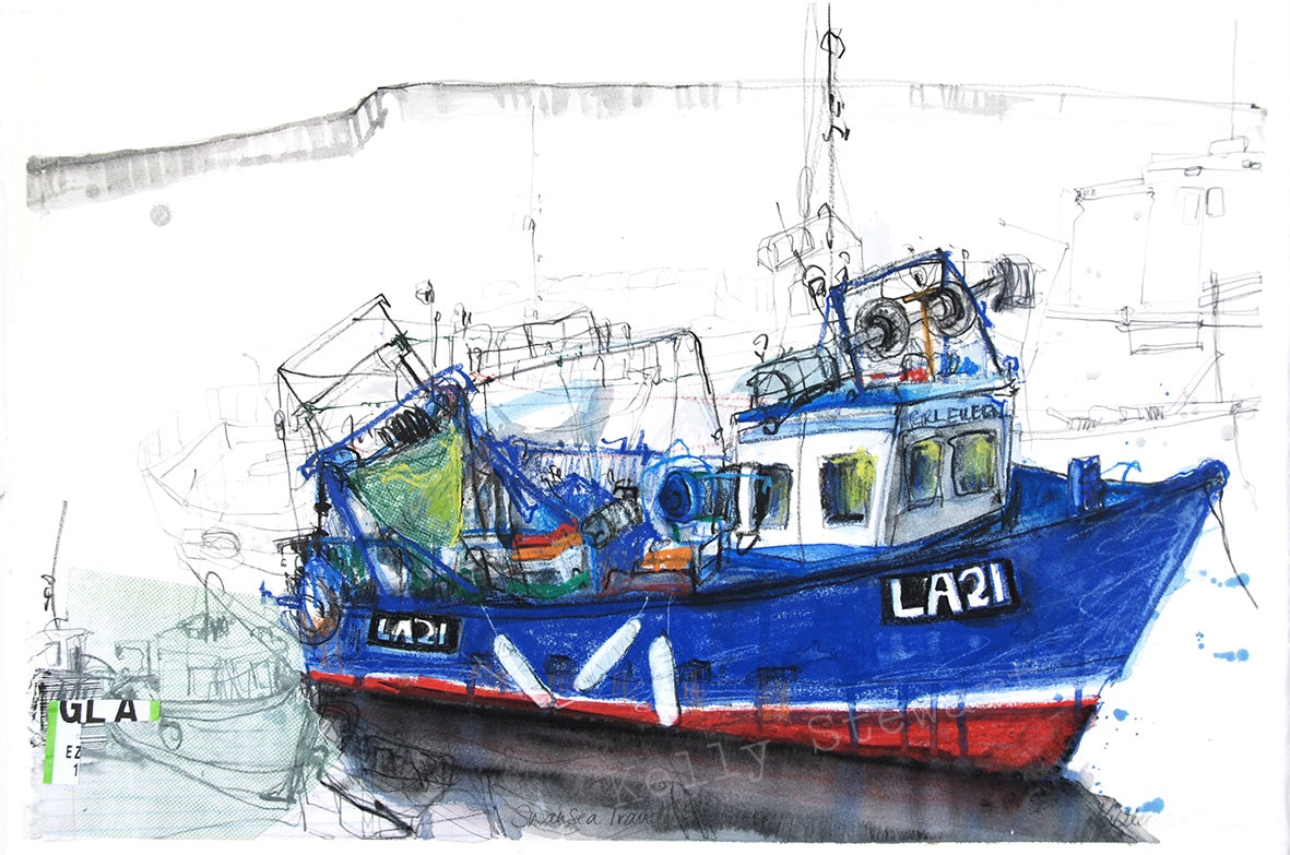 Swansea Trawler Original sold on behalf of Kelly Stewart