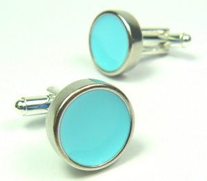 Turquoise Waters Cufflinks sold on behalf of Koa Jewellery