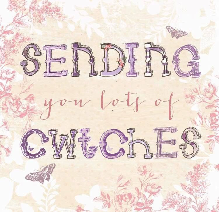Sending you lots of cwtches Card