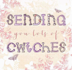 Sending you lots of cwtches Card - CAR056