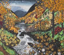 Autumn Betws Y Coed Card by Katie Allen