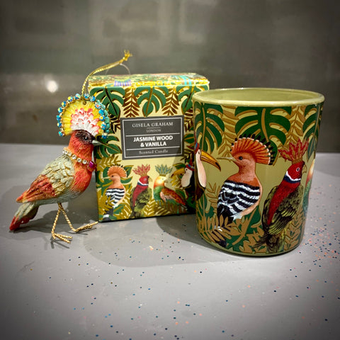 Regal Birds Boxed Candle Pot Sml
