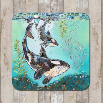 Coaster Dance with the Orca  by Dawn Maciocia