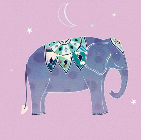 Elephant Card by Hannah Davies