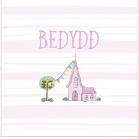 Bedydd card baptism by Dandelion Stationary