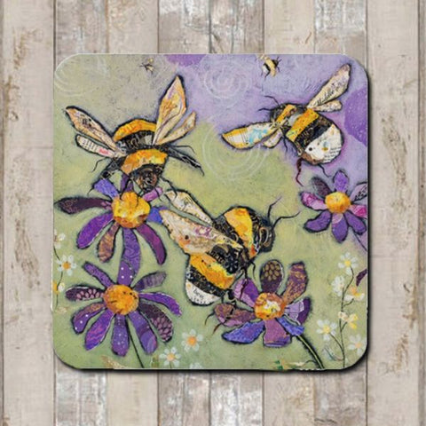 Coaster Humble Bumbles by Dawn Maciocia