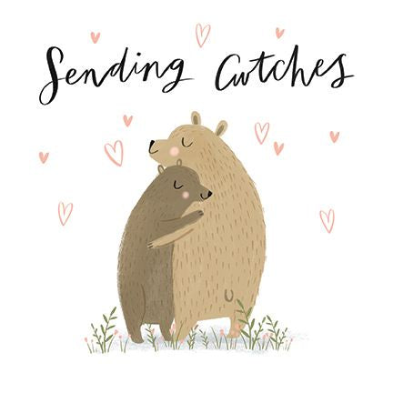 Sending cwtches Bears Card