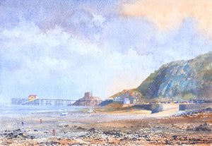 Low Tide Mumbles Print sold on behalf of R N Banning