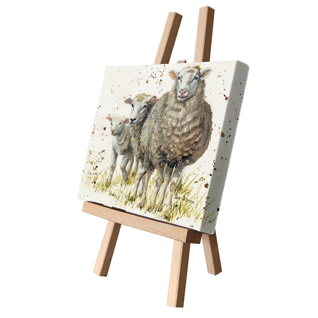 I Can See Ewe Canvas Cutie 15x20cm by Bree Merryn